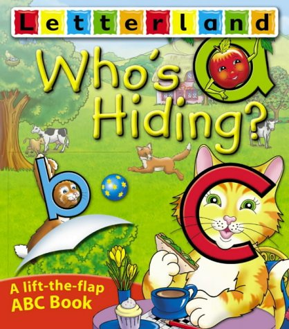 9780007192670: Who's Hiding ABC Flap Book (Letterland Picture Books)