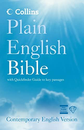 9780007192854: Collins Plain English Bible: Contemporary English Version (CEV): Collins Easy Access (Bible Cev)