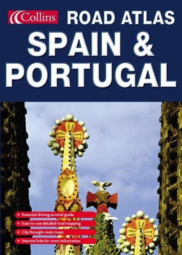 9780007192915: Collins Road Atlas Spain and Portugal