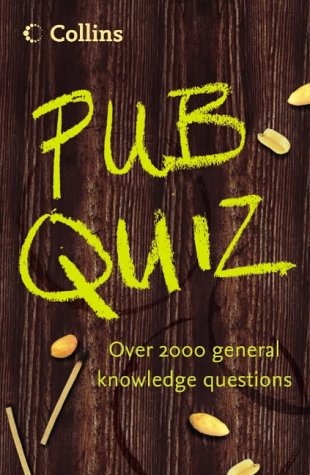 9780007193240: Pub Quiz: Over 2000 General Knowledge Questions