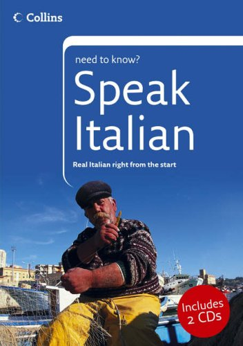 9780007193318: Speak Italian (Collins Need to Know?)