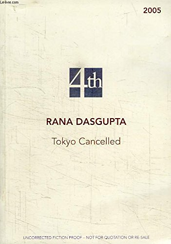 9780007193899: Tokyo Cancelled