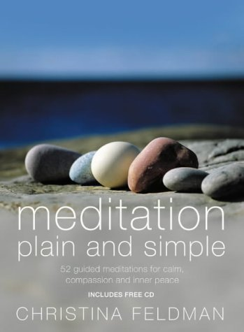 Meditation Plain and Simple (0007194609) by Christina Feldman