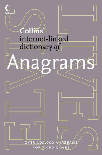 9780007194674: Collins Internet-Linked Dictionary of - Anagrams (Collins Dictionary of)