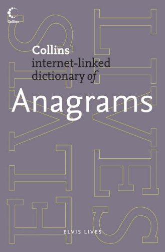 9780007194674: Anagrams (Collins Dictionary of)