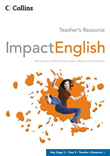 9780007195206: Impact English: Teacher's Resource No.1: Year 9