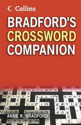 9780007195244: Collins Bradford's Crossword Companion
