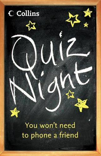 9780007195251: Quiz Night: You Won't Need to Phone a Friend