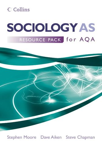 9780007195626: Sociology AS for AQA: Resource Pack