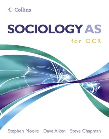 9780007195657: Sociology AS for OCR