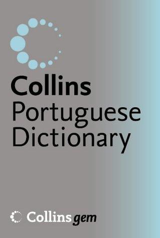 9780007195923: Collins Gem - Portuguese Dictionary