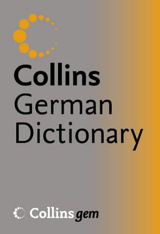 9780007195947: Collins Gem - German Dictionary