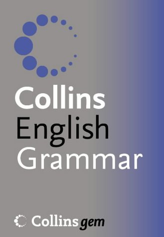 9780007196234: English Grammar (Collins GEM)