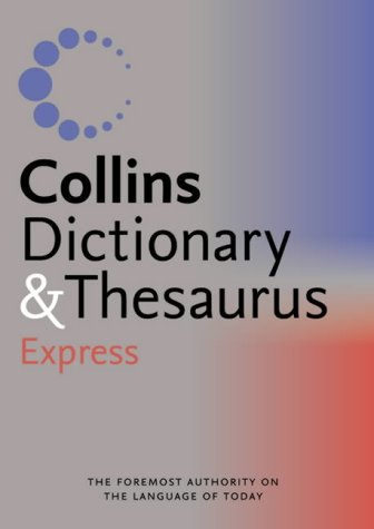 9780007196333: Collins Express Dictionary and Thesaurus