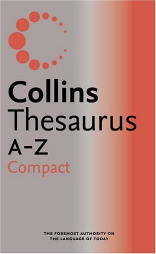 9780007196357: Collins Compact Thesaurus A-Z