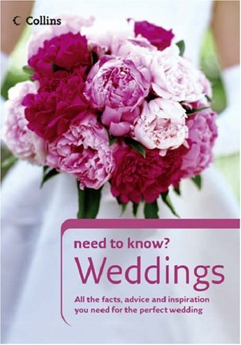 9780007197033: Weddings (Collins Need to Know?)