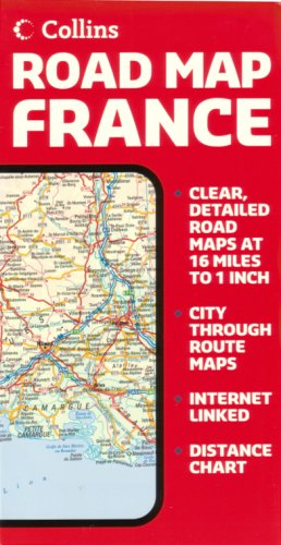 9780007197057: France Road Map by Collins