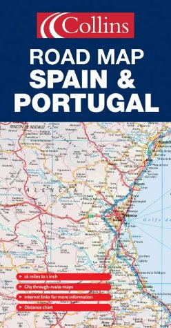 9780007197064: Spain and Portugal Road Map by Collins