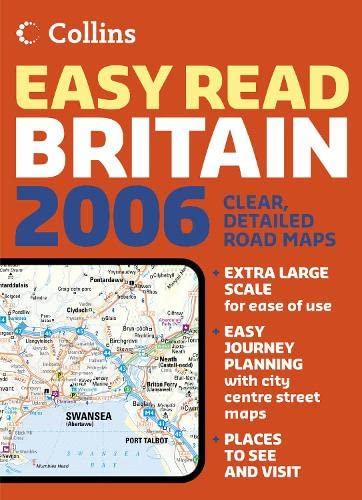 9780007197071: Collins Easy Read Road Atlas Britain