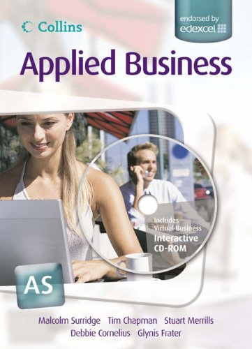 9780007197385: Collins Applied Business - AS for EDEXCEL Student's Book