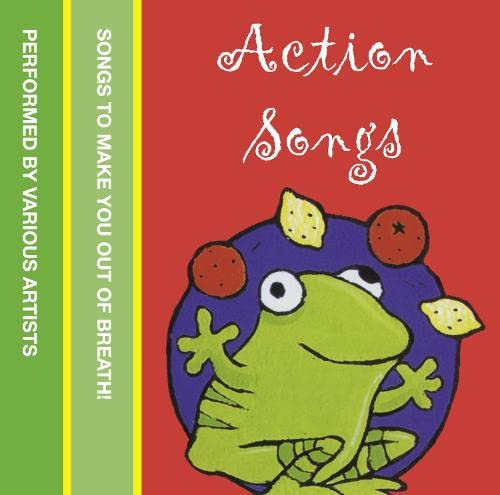 9780007197965: Action Songs: Songs to make you out of breath! (Nursery Tapes)