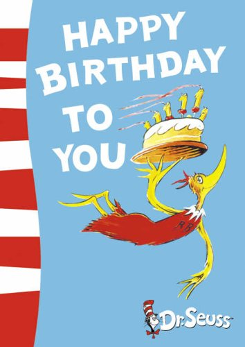 9780007198016: Happy Birthday to You! (Dr Seuss)