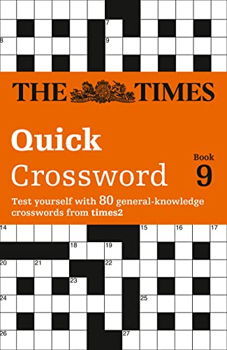 9780007198375: Times Quick Crossword Book 9: 80 General Knowledge Puzzles from The Times 2: Bk. 9