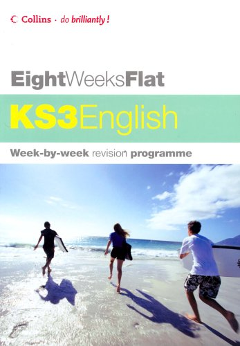 9780007199297: Eight Weeks Flat - KS3 English