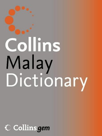 9780007199501: Malay Dictionary (Collins GEM)