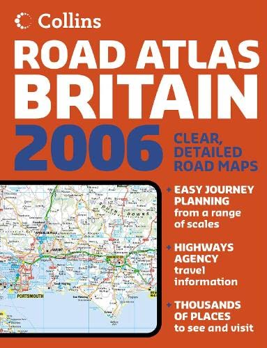 9780007199921: Collins Road Atlas Britain 2006