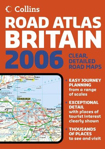 9780007199969: Collins A4 Road Atlas Britain 2006