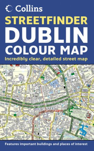 9780007199983: Dublin Streetfinder Colour Map