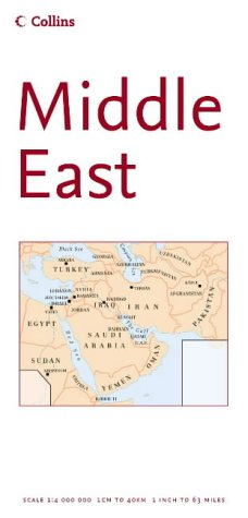 9780007200085: Middle East (Reference Map)