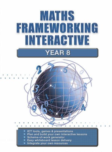9780007200566: Maths Frameworking - Year 8 Interactive CD-Rom: ICT Tools, Games and Presentations