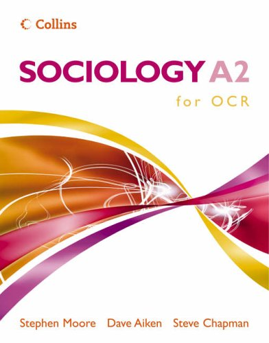 9780007200658: Sociology A2 for OCR