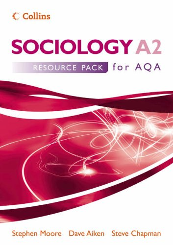 9780007200665: Sociology A2 for AQA Resource Pack (Sociology for AS/A2)