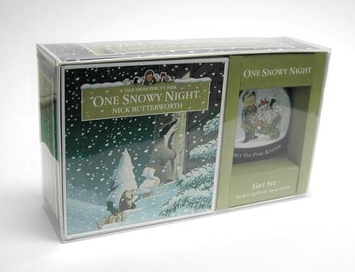 9780007200689: One Snowy Night Gift Set (Percy the Park Keeper)