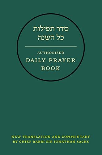 9780007200924: Hebrew Daily Prayer Book: Presentation Edition