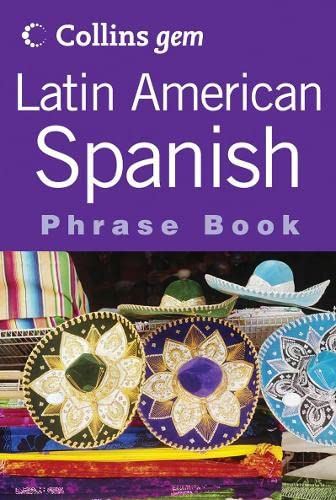 9780007201150: Latin American Spanish Phrase Book (Collins Gem Series) (Spanish Edition)
