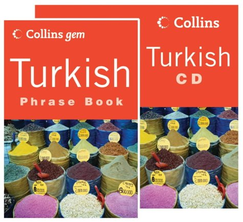 9780007201167: Collins Gem - Turkish Phrase Book CD Pack