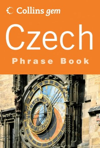 9780007201198: Czech Phrase Book (Collins Gem Series) (Czech Edition)