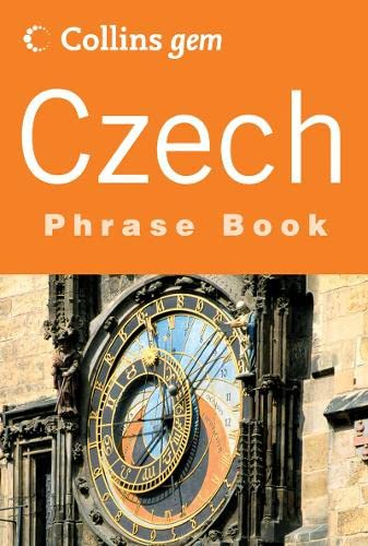 9780007201198: Czech Phrase Book (Collins Gem Series) (Czech and English Edition)