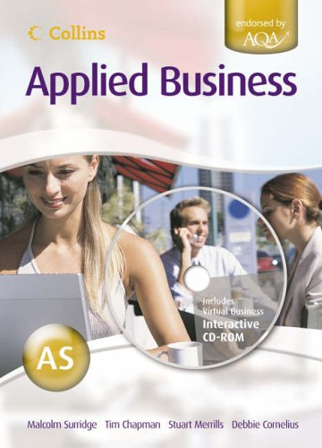 9780007201402: Collins Applied Business - AS for AQA Student's Book