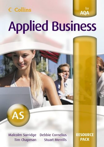 9780007201419: Collins Applied Business - AS for AQA Resource Pack