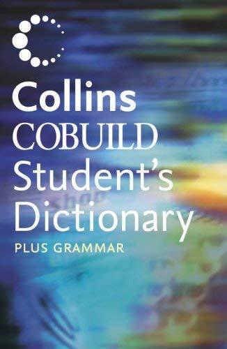 9780007202034: Collins cobuild student's dictionary plus grammar