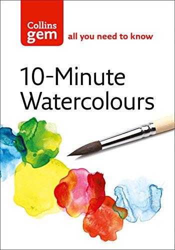 9780007202157: 10-Minute Watercolours (Collins Gem)