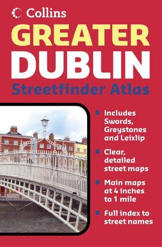 9780007202225: Greater Dublin Streetfinder Atlas