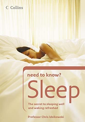 9780007202232: Sleep (Collins Need to Know?)