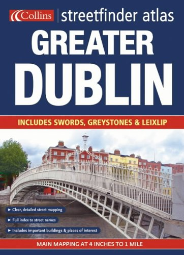 9780007202362: Greater Dublin Streetfinder Atlas: P4