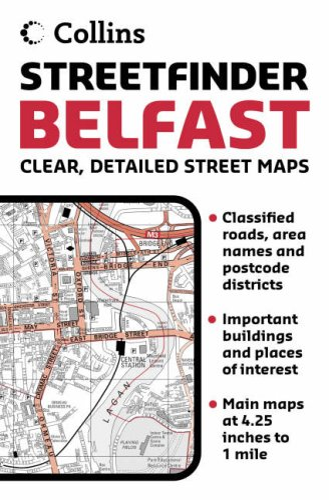 9780007202867: Belfast Streetfinder Atlas (Street Atlas)